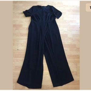 ELOQUII black jumpsuit wide leg sz 18